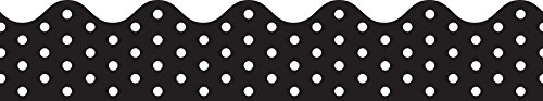 Carson-Dellosa Black and White Dots Border (108220)
