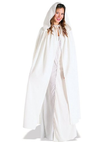 [Rubie's Costume Women's Lord Of The Rings Adult Arwen Cloak, White, Standard] (Lotr Elves Costumes)