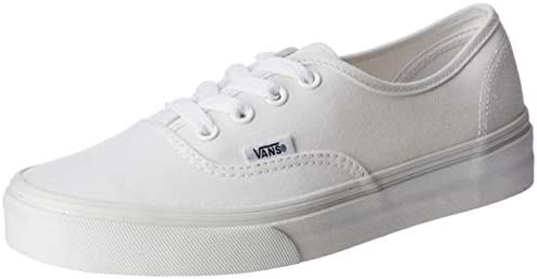 Vans Authentic Unisex-Adults' Low-Top Trainers, True White,5 UK (38 ...