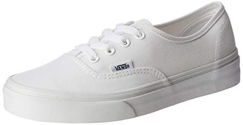 Vans Authentic(tm) Core Classics, True White, Men's 9, Women's 10.5 Medium -