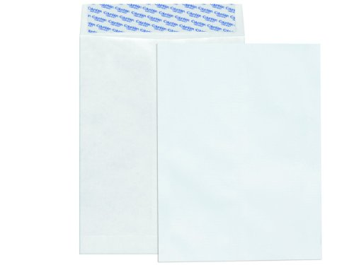 Columbian CO801 9x12-Inch Tyvek White Envelopes, 100 Count Columbian Open End Catalog Envelopes
