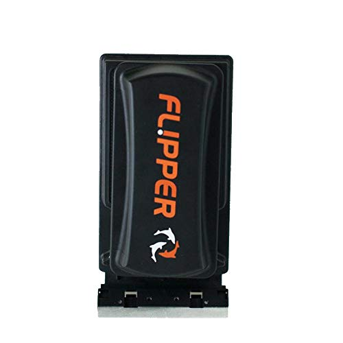 FL!PPER Flipper 2 in 1 Aquarium Algae Magnet Cleaner