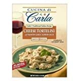 Carlas Dominics Cheese Tortellini Pasta, 3 Pound - 4 per case.