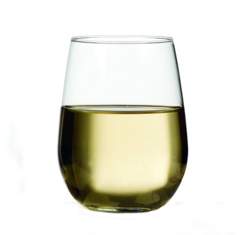 Libbey 17-Ounce Stemless White Wine, Box of 12