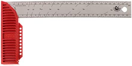 90° Construction Carpenter Ruler L Shape Angle Square Ruler Woodworking Tools