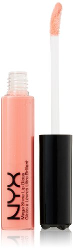 NYX Professional Makeup Mega Shine Lip Gloss, Nude Pink, 0.37 Ounce