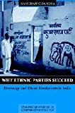 Why Ethnic Parties Succeed 9780521814522