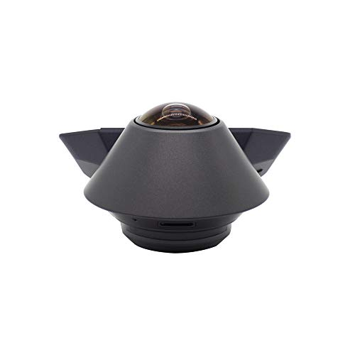 Waylens - Secure360 4G Dash Camera with Direct Wire Cord - 360° Coverage - Built-in Infrared LEDs - Smart Power & Thermal Management - Supports Class 10 microSD Cards up to 256GB