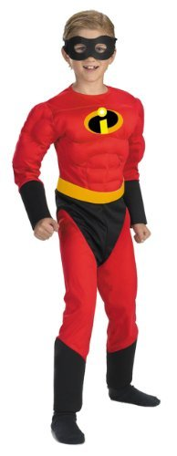 [The Incredibles Dash Muscle Costume - Child Costume - Medium (7-8) by WonderCostumes] (Dash Incredibles Costumes)