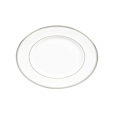 Vera Wang by Wedgwood Grosgrain 15.25-Inch Oval Platter