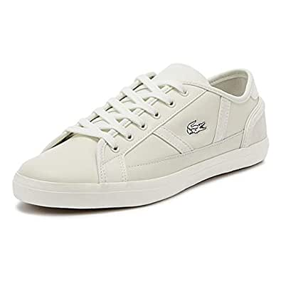 Lacoste Sideline 119 3 Womens Off White Trainers-UK 4 / EU 37