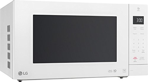 LG LMC2075ASW Neochef Countertop Microwave with Smart Inverter, Smooth White by LG
