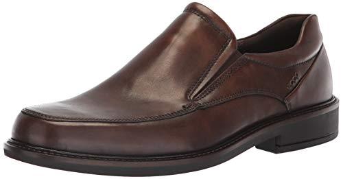 ECCO Men's Holton Apron Toe Slip On Loafer, Coffee, 38 M EU (4-4.5 - Coffee Loafer