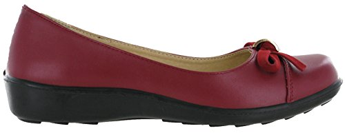 Burgundy Annabelle Annabelle Balletto Donna Balletto qwxIPvUw