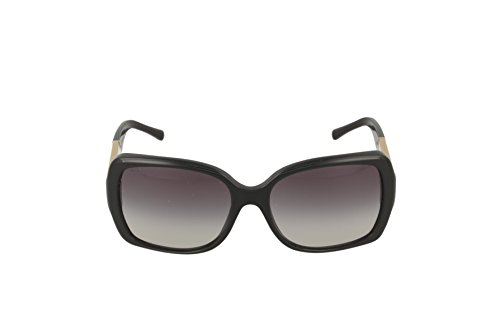 24b28c55602 Burberry BE4160 34338G Black BE4160 Square Sunglasses Lens Category 3 Size  58mm