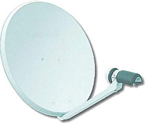 SATYCON Antena PARABOLICA 80CM (Kit Completo ...
