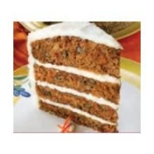 Alden Merrell Desserts 4 Layer Towering Carrot Cake, 208 Ounce -- 1 each.