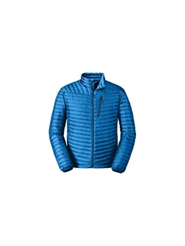 Eddie Bauer Men's MicroTherm 2.0 StormDown Jacket, Ascent Blue Regular M ()
