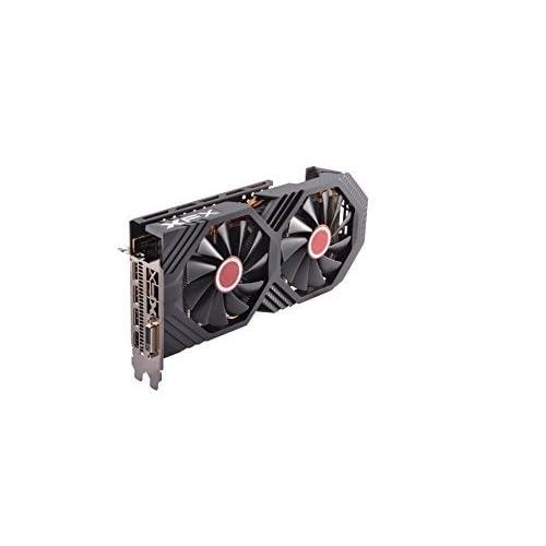 XFX AMD Radeon RX RX 580P828D6 8GB Black Edition Tarjeta gráfica Radeon Express