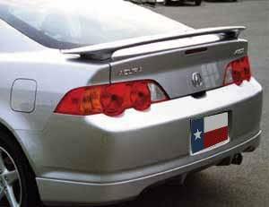 Spoiler for a Honda Civic 4-Door Sedan Factory Style Spoiler-Satin Silver Met Paint Code Accent Spoilers NH623M