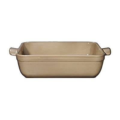 Emile Henry 10 by 10-Inch Square Baker
