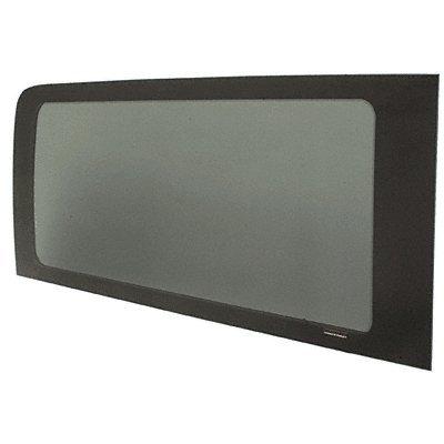 (CRL 2007+ OEM Design All Glass Look Sprinter Van Passenger Side Rear Window 144