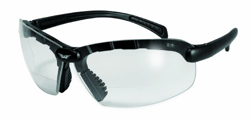 C 2 Eyewear (Global Vision Eyewear C-2 Bifocal +2.50 Magnification Safety Glasses, Clear Lens)