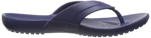 Bleu Flip nautical Femme Marine Navy Crocs Kadee flop Tongs ZXfpvWR