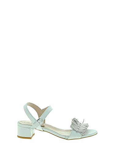 Altos Sandalias Mujeres Mally Blanco 6196 qBYf8f