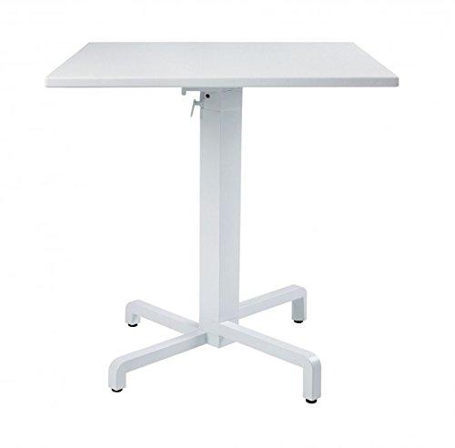 タカショー NAR-T02W ピアニ テーブル ホワイト B00MF0MBPU