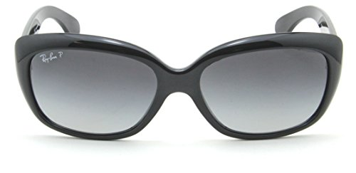 Ray-Ban RB4101 Jackie Ohh Polarized Women Sunglasses Black 601/T3 (Ray Bans Jackie Ohh)