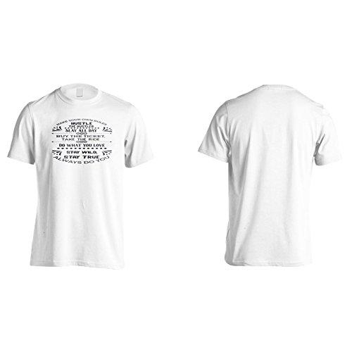 Mach Deine Eigenen Regeln Herren T-Shirt n313m