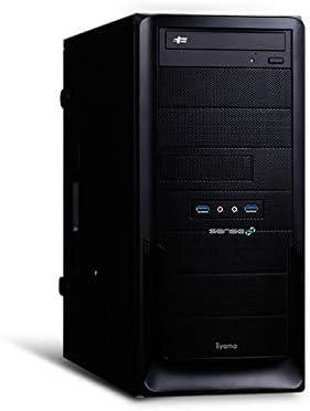 iiyama デスクトップパソコン SENSE∞ (Core i7-10700/16GB・NVMe対応 M.2 SSD 500GB/Quadro P1000/BTO) SENSE-R04A-iX7-QEX-CMG-M