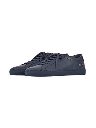 COMMON PROJECTS Herren 15283875 Blau Leder Sneakers