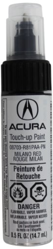 Genuine Acura Accessories 08703-R81PAA-PN Milano Red Touch-Up Paint Pen - 0.5 fl. ()