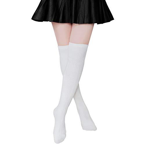 Ordenado Womens Thigh High Socks Spring Sexy Over