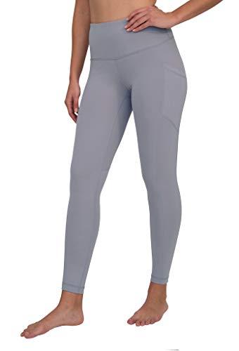 90 Degree By Reflex High Waist Interlink Yoga Pants - Winter Violet - Large