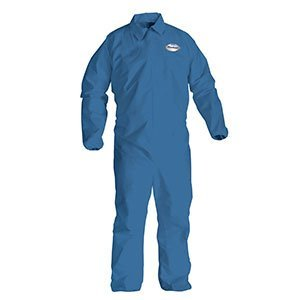 Disposable Clothing - XL Blue KleenGuard* A20 Breathable Particle Protection Coveralls - (24/Case) - -