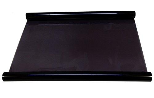 Aerzetix - Tönungsfolien Glas Verdunkelungsfolie zum Auto Licht schwarz (light black) 40% 3m Breite 75cm