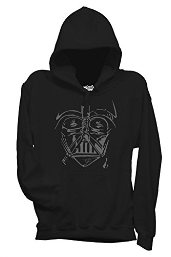Nera Nera Nera Donna Dress MUSH Film by Your Darth Darth Darth Darth L Felpa Style Viso Vader Ox1U7P