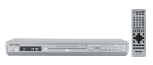 Panasonic DVD-S27S Progressive Scan DVD Player , Silver