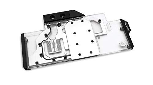 EKWB EK-Vector Trio RTX 2080 RGB GPU Waterblock, Nickel/Plexi