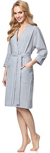 Italian Fashion IF Bata para mujer Ursula Melange/Blanco