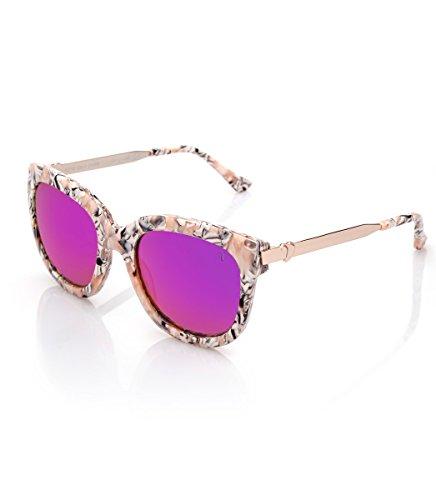 Acetato Summer Shop Mazza Starlite Gafas Rosa metal Valeria De Sol TBT4vn8