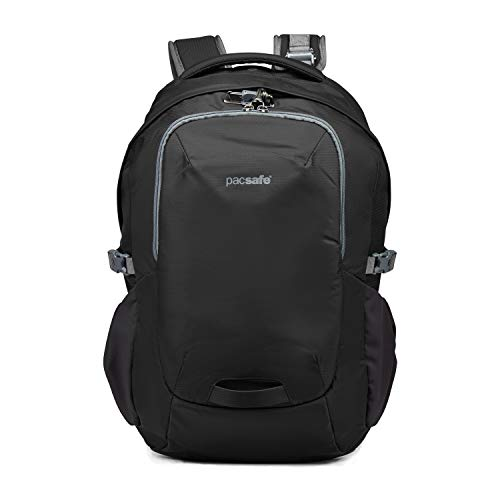 Pacsafe Venturesafe G3 25 Liter Anti Theft Travel Backpack Daypack-Fits 15 Laptop, Black