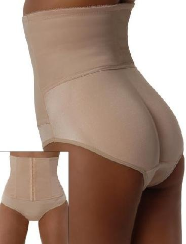 Plénitude Serre-taille Butt Booster Extra Large Nude (Paquet de 5)
