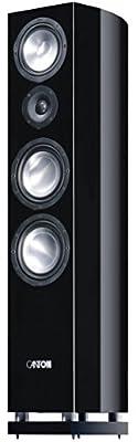 Canton Reference 7 DC Floorstanding Speaker (Black Piano)