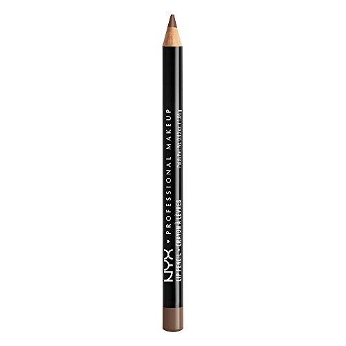 NYX PROFESSIONAL MAKEUP Slim Lip Pencil, Espresso, 0.04 Ounc