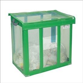 テラモト 自立ゴミ枠 折りたたみ式 緑 DS-261-001-2 900×900×800mm 650L 【ゴミストッカー ゴミ収集庫】 【ゴミ袋(45L)集積目安 14袋、世帯数目安 7世帯】 B01CVPB4QA 18700