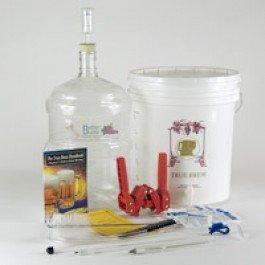Strange Brew Home Brew Starter Equipment Kit and Zymurgy Book by Strange Brew Home-Brew
